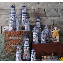 cadeaux chauds de festival de vente avec le phare pour la décoration à la maison
