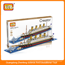 Loz toy toy toy toy toy connectant blocs de construction jouet bricolage Titanic