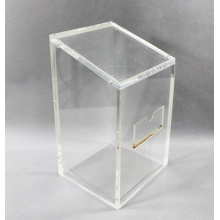 Clear Acrylic Bin with Top Cover