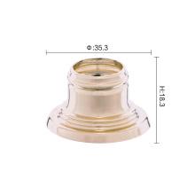 Good magnetic aluminium perfume bottle cap use collar
