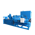 Hight quality low price PET bottles hydraulic baling press machine of storing easily expediently