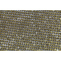 Aluminium hot fix mesh with rhinestone of golden 45*120cm