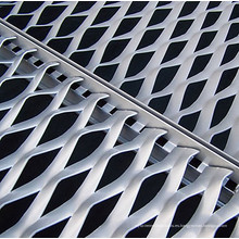 Malla de metal decorativa en expansión de aluminio