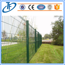 ANPING Powder coated 3 folding curvy fence