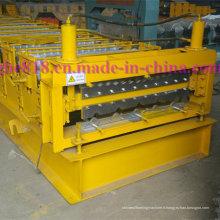 Corrugation tuile pour toiture tôle Double couche rouleau formant la Machine
