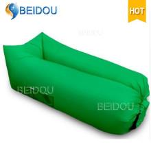 Canapé gonflable à air simple en nylon à hamac simple