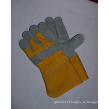 "Cow Split Leather 2.5"" Cuff Work Glove-3061"