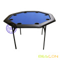 48 inch Octagon Poker Table with Folding Legs