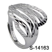 2016 personalisierte Mode Silber Schmuck Lady Ring (S-14163)