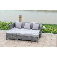 Sofa de rotin extérieur avec le nouveau design des meubles de jardin