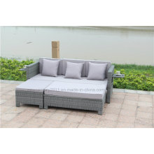 Outdoor Rattan Sofa with New design of Garden Furniture