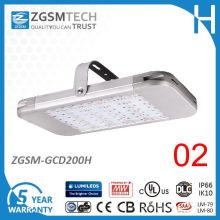UL Aprovado 200W LED Low Bay Light com sensor de movimento