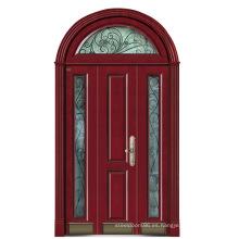 Italia puerta de acero blindada puerta dormitorio proveedor China (D4013)