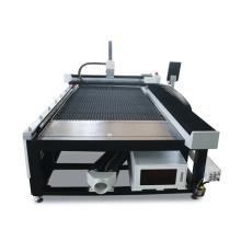 Máquina de corte do laser da fibra tubo do aço 1000W do CNC / metal