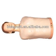 Médico educativo avanzado medio cuerpo CPR formación maniquí