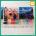 Hard Plastic Transparent Sheet Commercial Poster