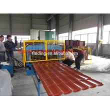 hoja de galvanizado para techos roll formando/máquina