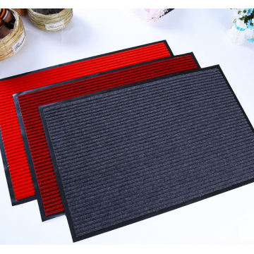 Anti-skid entrance non-woven fabric ribbed stripe mat
