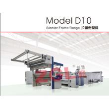 Máquina de ajuste D10 Stenter para telas textiles de algodón de punto