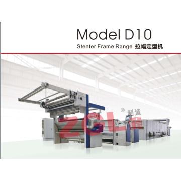 Máquina de diseño europeo Stenter de estructura para tela tejida