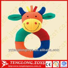 Симпатичные и мягкие плюшевые детские игрушки оптом корова в форме игрушек