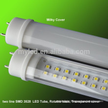 Home lighting LED tubes T8 SMD 4 foot led tube T8 24cm 36w