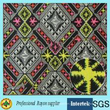 Ткань из вискозы с африканским принтом для одежды для девочек