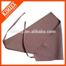 Atacado personalizado algodão triângulo lenço bandana