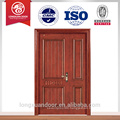 Guangzhou doors mother and son door teak wood