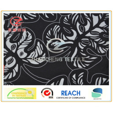 300t Poly Pongee Tree Leaf Printing Garment Fabric () Zcgp006