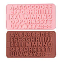 Silicone Letters Numbers Mould, Happy Birthday Symbols Alphabet Chocolate Mold, Candy Biscuit Gummy Making Tray