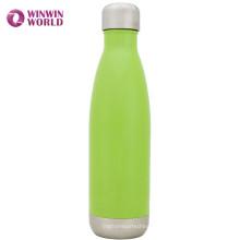Botella de agua aislada portable portátil del vacío del acero inoxidable 17oz