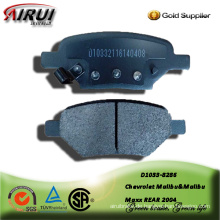 Semi-metallic brake pad for Chevrolet Malibu&Malibu Maxx REAR 2004