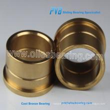 Buje de latón RG7, manguito metálico de cobre con manga de bronce, buje de latón fundido