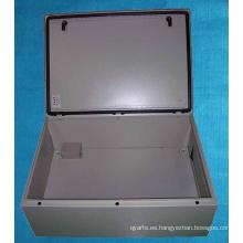 Gabinete eléctrico de sellado de goma impermeable sin costuras