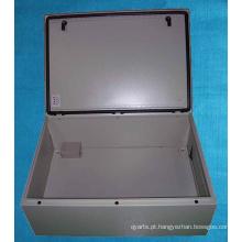 Gabinete elétrico de vedação de borracha impermeável sem costura