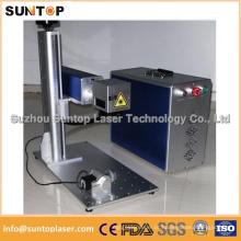 Máquina de marcação a laser de fibra de metal para jóias / brincos Máquina de marcação a laser