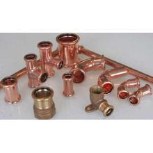 Kupfer-Pressfittings (M001) Kupfer-Rohre für Wasser und Gas