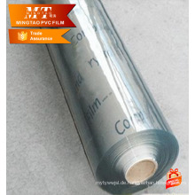 0,1mm Kristall PVC Film für Super klar PVC Filmrolle für PVC Fabrik
