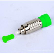 Atenuador de fibra óptica monomodo de 1 ~ 30dB FC / APC