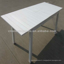 Table de polywood d'extension