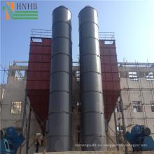 Filtro de polvo industrial ampliamente utilizado para fregar con gas