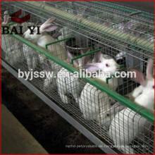Fabrik-Versorgungsmaterial-Rabatt galvanisierte Handelskaninchen-Landwirtschaft Cage Supplies