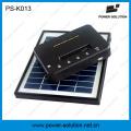 Portable Lithium-Ionen-Batterie Home Solar Power System mit 3 Glühbirnen