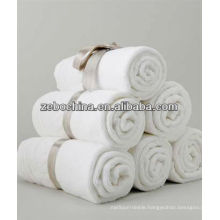 Direct factory made deluxe 100% cotton wholesale white hotel bath towel