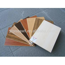 Papel de melamina de alta calidad de color MDF bordo