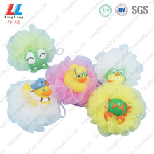 Favorite squishy animal bath ball sponge