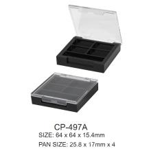 Square Plastic Compact Case Cp-497A