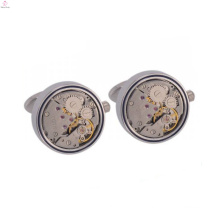 New style eco-friendly copper custom watch movement cufflink