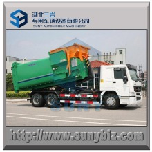 12 M3 Tipping Bucket Mobile Refuse Compactor Station